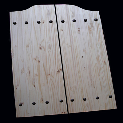 Knotty Pine Riveted